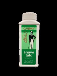 Clubman Shave Talc Тальк универсальный (нейтральный, подходит для бритья электробритвой), 112 г