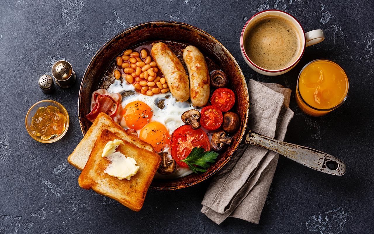 Лучшие завтраки для мужчин на неделю